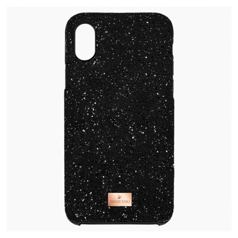 High Smartphone Case with integrated Bumper, iPhone® X/XS, Black Swarovski