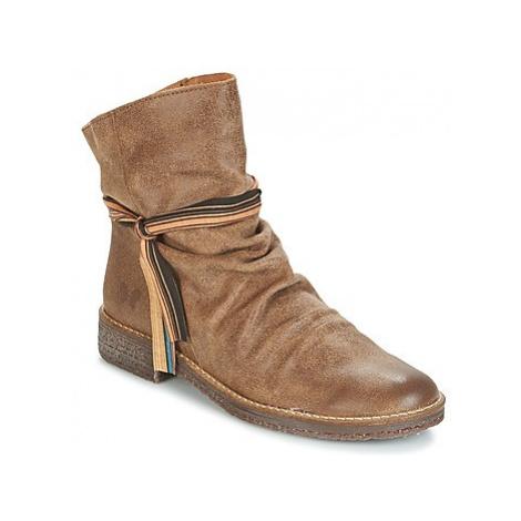 Felmini CREPONA women's Mid Boots in Brown