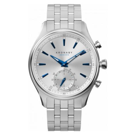 Mens Kronaby Sekel 41 Bluetooth Hybrid Watch A1000-3121