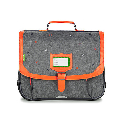 Tann's KING'S CROSS CARTABLE 38 CM boys's Briefcase in Grey