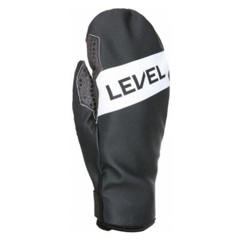 Level WEB MITT gray - Men's ski gloves