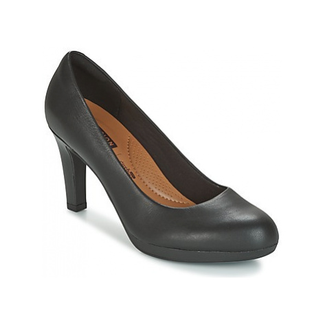 Clarks ADRIEL VIOLA women's Court Shoes in Black