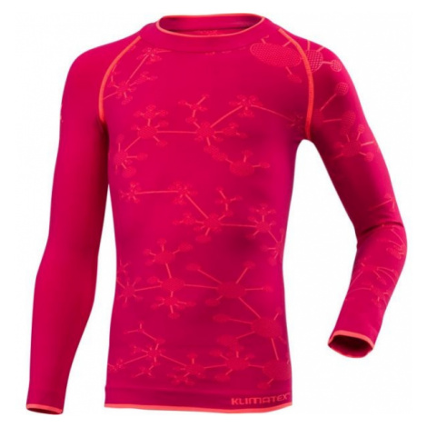 Klimatex BIGGY pink - Girls' functional T-shirt