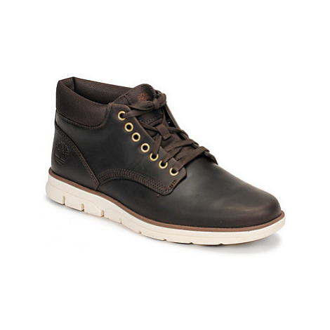 Timberland BRADSTREET CHUKKA LEATHER men's Shoes (High-top Trainers) in Brown