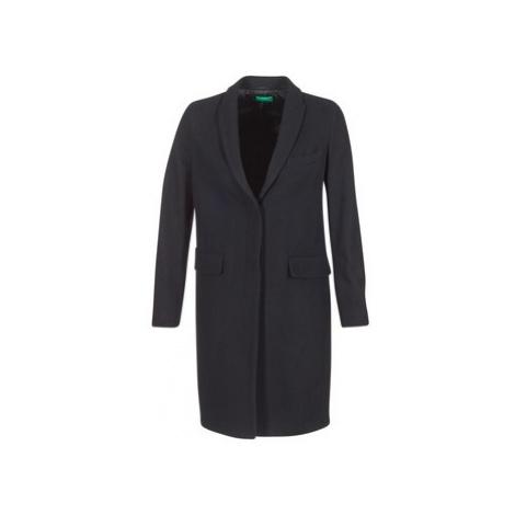 Benetton MADIR women's Coat in Black United Colors of Benetton