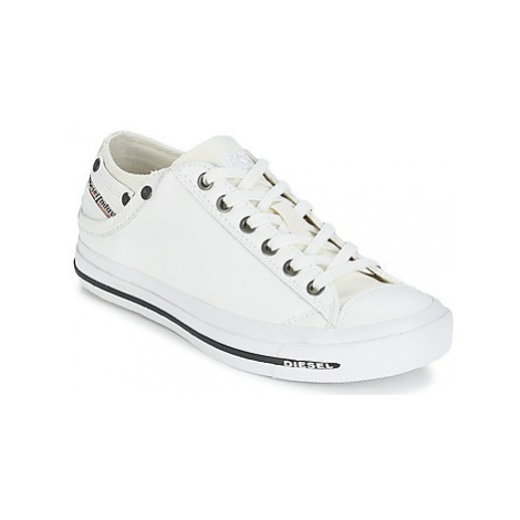 Diesel EXPOSURE IV LOW WOMAN women's Shoes (Trainers) in White