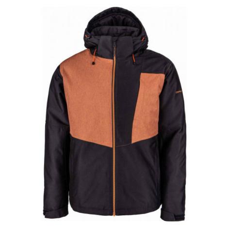 ALPINE PRO JERM black - Men's ski jacket