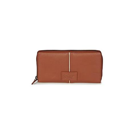 Brown women's wallets