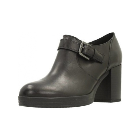Geox D REMIGIA C women's Low Boots in Black