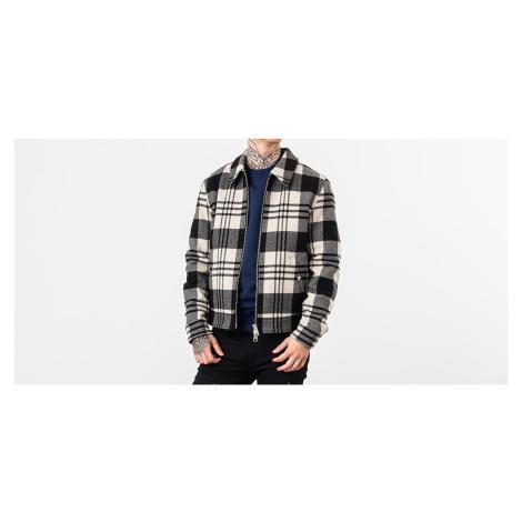 Alexandre Mattiussi Snap Buttoned Zipped Jacket White/ Black