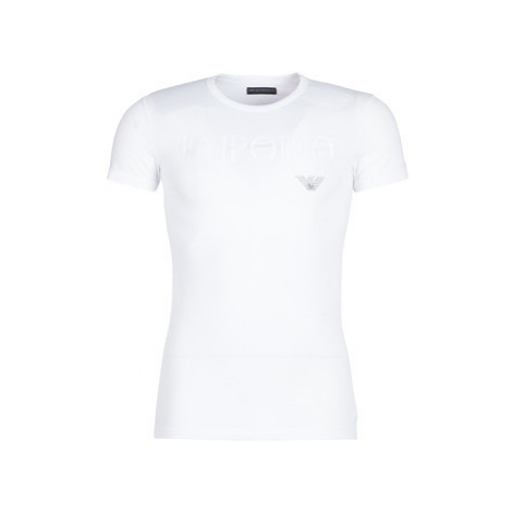 Emporio Armani CC716-111035-00010 men's T shirt in White