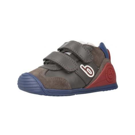 Biomecanics 191166 boys's Children's Shoes (Trainers) in Grey