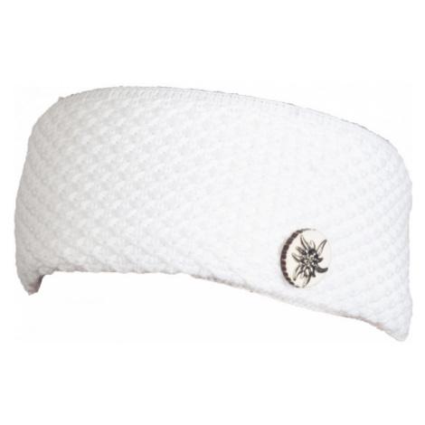 R-JET SPORT FASHION BASIC ALPINKA white - Women's knitted headband