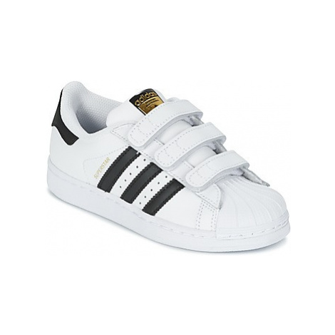 Adidas SUPERSTAR FOUNDATIO girls's Children's Shoes (Trainers) in White