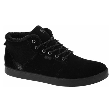 shoes Etnies Jefferson Mid - Black/Black - men´s