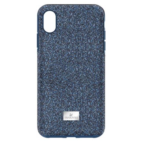 High Smartphone Case with Bumper, iPhone® XR, Blue Swarovski