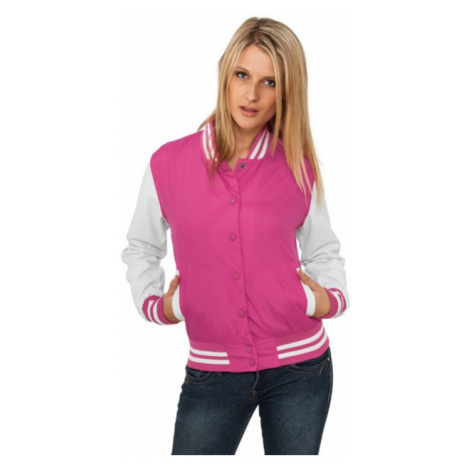 Urban Classics Ladies Light College Jacket fus/wht