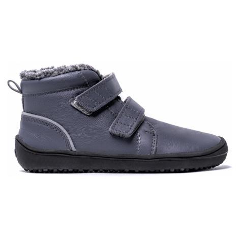 Be Lenka Kids Winter barefoot - Penguin - Charcoal 35