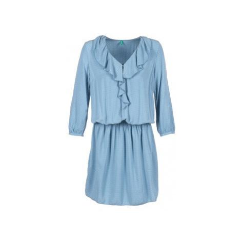 Benetton AFIDOUL women's Dress in Blue United Colors of Benetton