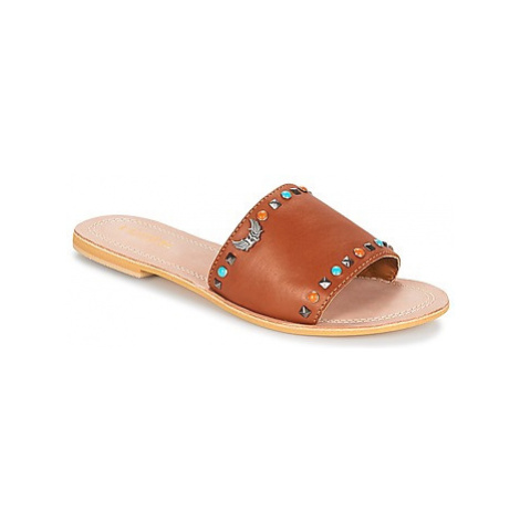 Kaporal MALINI women's Mules / Casual Shoes in Brown