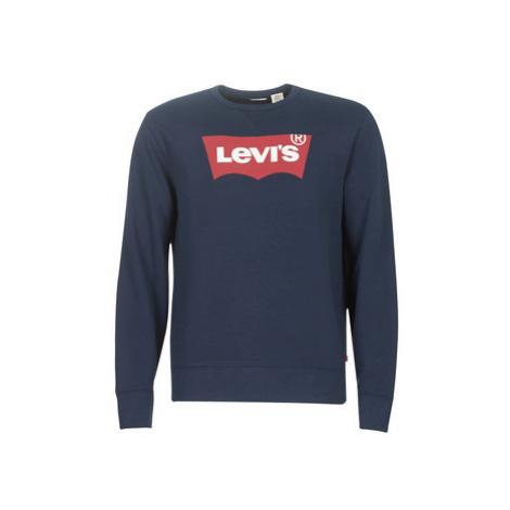 Levis GRAPHIC CREW B men's Sweatshirt in Blue Levi´s