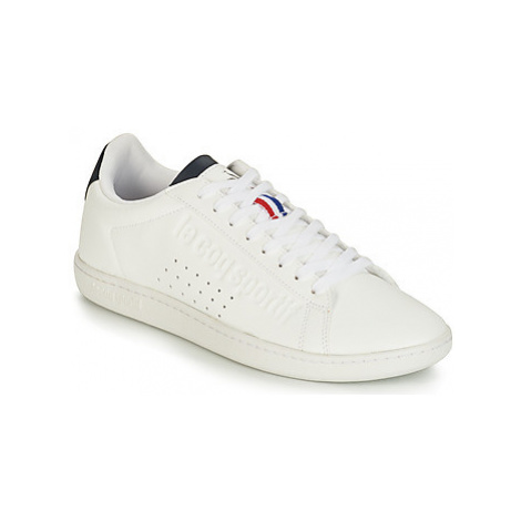 Le Coq Sportif COURTSET men's Shoes (Trainers) in White