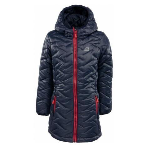 ALPINE PRO EASO dark blue - Kids' winter coat