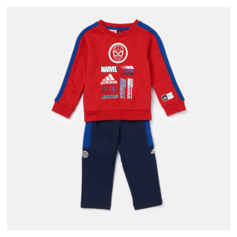 Adidas Boys' Infant Spider-Man Jogger Set - Red/Blue