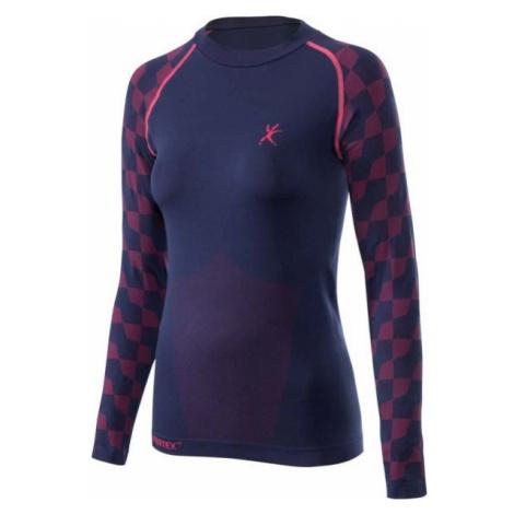 Klimatex FARIDA dark blue - Women's functional seamless thermal T-shirt
