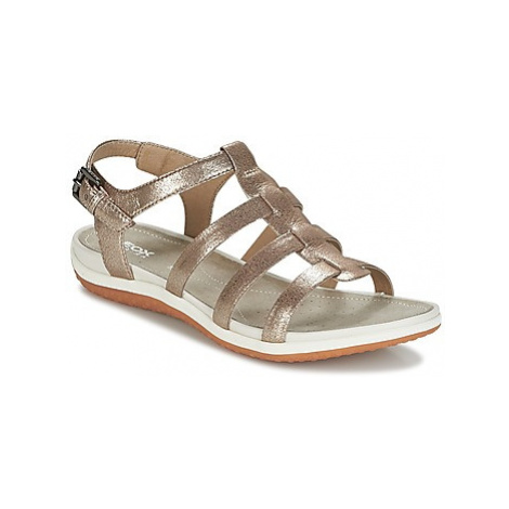 Geox SAND.VEGA A women's Sandals in Beige