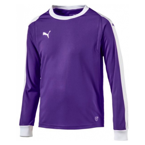 Puma LIGA GK JERSEY JR purple - Boys' T-shirt