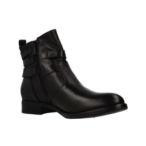 Nero Giardini A908755D women's Low Ankle Boots in Black