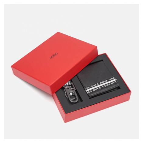 HUGO Men's Wallet and Key Holder Gift Box - Black Hugo Boss