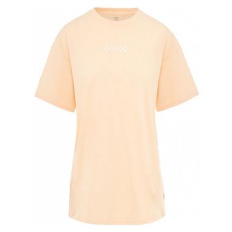 Vans WM OVERTIME OUT BLEACHED APR light pink - Women's T-shirt