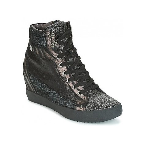 Mam'Zelle LOENA women's Shoes (High-top Trainers) in Black