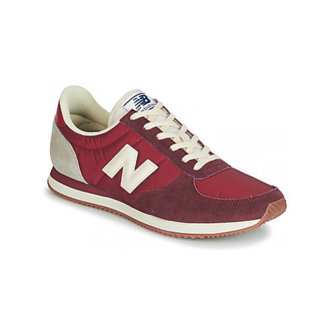 New Balance 220 men's Shoes (Trainers) in Red