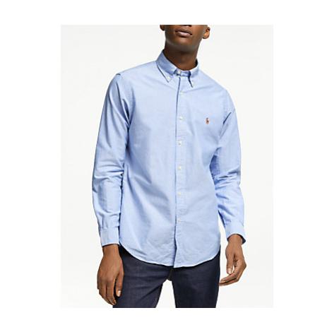 Polo Ralph Lauren Regular Fit Oxford Shirt, Bar Blue