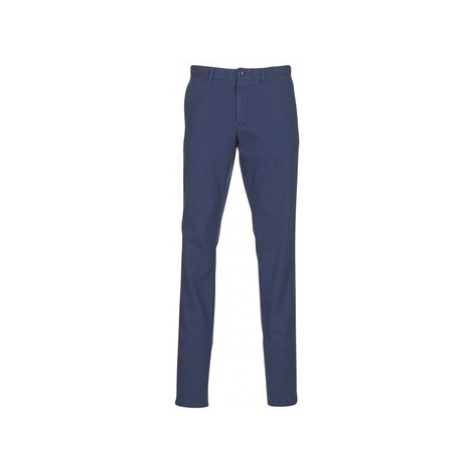 Tommy Hilfiger BLEECKER-CHINO-DOT-JACQUARD-GMD men's Trousers in Blue