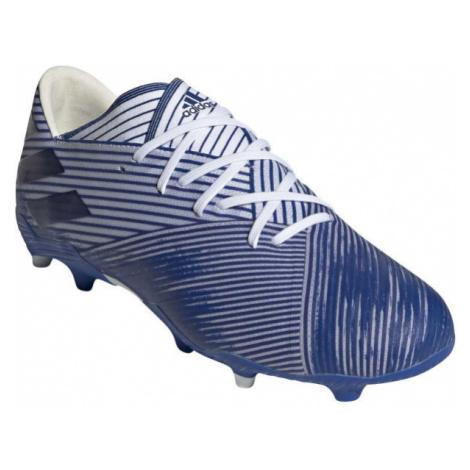 adidas NEMEZIZ 19.2 FG white - Men's football cleats