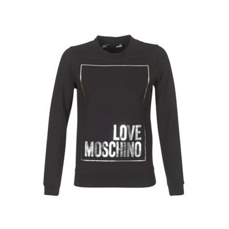 Love Moschino HULA women's Sweatshirt in Black