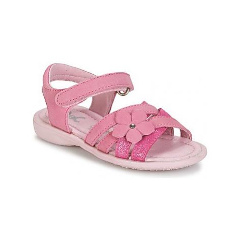 Citrouille et Compagnie BELDAF girls's Children's Sandals in Pink