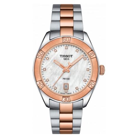 Ladies Tissot Pr100 Sport Chic Watch T1019102211600