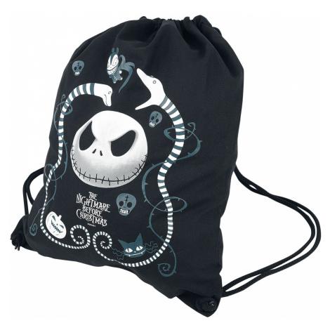 The Nightmare Before Christmas Snake Charmer Gym Bag black