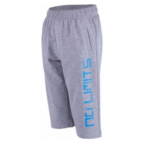 Lewro OMER gray - Boys' 3/4 length sweatpants