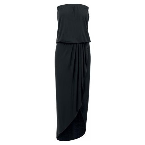 Urban Classics - Ladies Viscose Bandeau Dress - Dress - black
