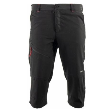 ALPINE PRO KALIL 2 black - Men's 3/4 length pants