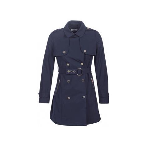 Morgan GENA women's Trench Coat in Blue