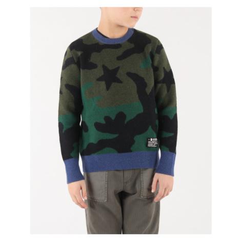 Diesel Kroxi Kids sweater Green Colorful
