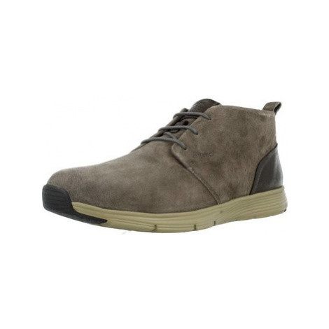 Geox U SNAPISH men's Mid Boots in Brown