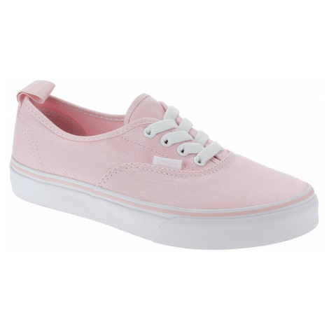 shoes Vans Authentic Elastic Lace - Chalk Pink/True White - unisex junior